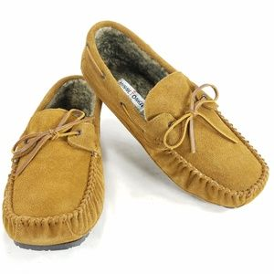 Minnetonka Moccasin Mens Tyler Trapper Suede Shoes